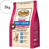 ニュートロ ナチュラルチョイス【中型犬〜大型犬用】エイジングケア チキン&玄米 2kg