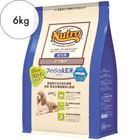 ニュートロ ナチュラルチョイス【全犬種用】成犬用 フィッシュ&ポテト 6kg