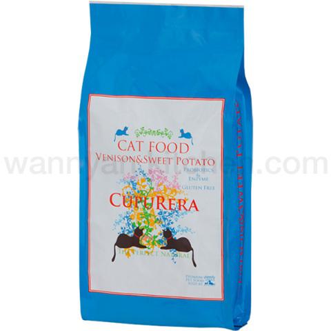 CUPURERA(クプレラ)ベニソン&スイートポテト キャットフード 4.54kg