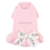 ルイスドッグ【louisdog】Organic Ribbon Dress Pink