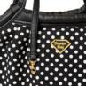 【Diamond Baby】ダイヤモンドベイビー マシュマロイージーキャリーバッグ ドットBlack Sサイズ