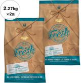 【NaturallyFresh】ナチュラリーフレッシュ チキン&ダック 2.27kg×2袋