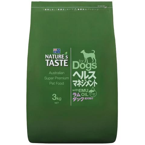 【NATURE'sTASTE】ネイチャーズテイスト ヘルスマネジメント(成犬用)3kg