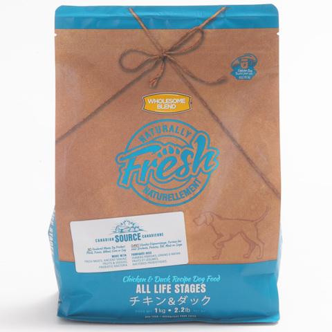 【Naturally Fresh】ナチュラリーフレッシュ チキン&ダック 1kg