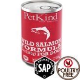 【PetKind】ペットカインド(缶詰)ワイルドサーモン 369g×12缶