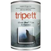 【Tripett】トライペット グリーンビーフトライプ&ベニソン 396g×12缶