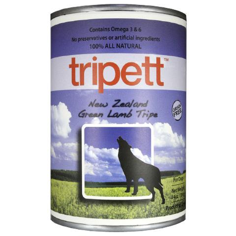【Tripett】トライペット ニュージーランドグリーンラムトライプ 396g×12缶