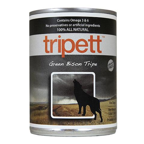 【Tripett】トライペット グリーンバイソントライプ 396g×12缶
