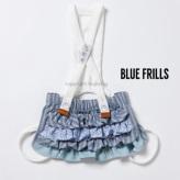 ルイスドッグ【louisdog】Zizzy Skirt Blue Frills