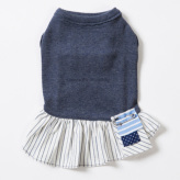 ルイスドッグ【louisdog】Organic Kiss Me Dress Navy