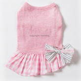 ルイスドッグ【louisdog】Organic Kiss Me Dress Pink