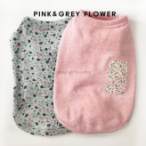 ルイスドッグ【louisdog】My Dog's Organic Pink/Grey Flowers
