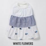ルイスドッグ【louisdog】Dressy White Flowers
