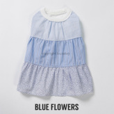 ルイスドッグ【louisdog】Dressy Blue Flowers