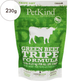 【PetKind】ペットカインド(トライプドライ)グリーンビーフトライプ 230g