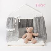 ルイスドッグ【louisdog】Peekaboo/Linen Cabana Petit