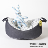 ルイスドッグ【louisdog】My First Louisdog/Organic House White Flowers 画像幅設定ヘルプ