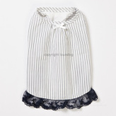 ルイスドッグ【louisdog】Organic Sleep Dress Navy Stripes