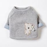 ルイスドッグ【louisdog】Wooly Bear Brown Cream Bear(Crop Tee)
