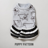 ルイスドッグ【louisdog】Organic Dress/Joli Puppy Pattern