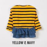 ルイスドッグ【louisdog】Sweet Frills Yellow&Navy