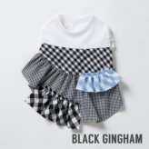ルイスドッグ【louisdog】Sunday Dress Black Gingham