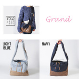 ルイスドッグ【louisdog】Yolo Sling Bag Grand-Navy/Light Blue