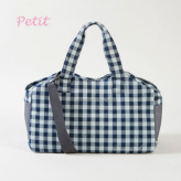 ルイスドッグ【louisdog】Tote Bag/Indigo Gingham Petit