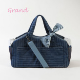 ルイスドッグ【louisdog】Tote Bag/Indigo Stripes Grand