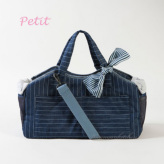 ルイスドッグ【louisdog】Tote Bag/Indigo Stripes Petit