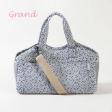 ルイスドッグ【louisdog】Tote Bag/Indigo Flowers Grand