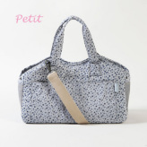 ルイスドッグ【louisdog】Tote Bag/Indigo Flowers Petit