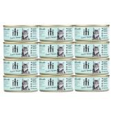 iti(イティ)キャット ウェットフード ラム&ベニソン缶 猫用 85g×12缶
