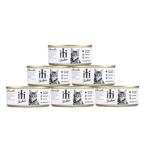 iti(イティ)キャット ウェットフード チキン缶 猫用 85g×6缶