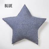 ルイスドッグ【louisdog】Linen Star Cushion Blue