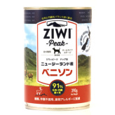 ZiwiPeak(ジウィピーク)ドッグ缶 ベニソン 390g×12缶セット