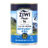 ZiwiPeak(ジウィピーク)ドッグ缶 ニュージーランド マッカロー&ラム 390g×12缶セット