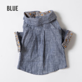 ルイスドッグ【louisdog】Linen Shirt Blue