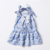 ルイスドッグ【louisdog】Blue Ice Dress
