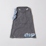 ルイスドッグ【louisdog】Linen Top Chacoal
