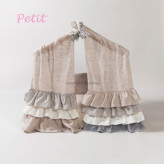 ルイスドッグ【louisdog】Peekaboo/Privacy Plz Petit-Natural Linen