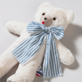 ルイスドッグ【louisdog】My Lovey Teddy Cream/BlueStripe