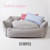 ルイスドッグ【louisdog】Linen Boom Extra Super-Stripe Linen