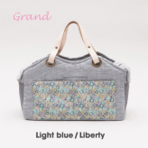 ルイスドッグ【louisdog】Tote Bag/Linen Grand-Light Blue/Liberty