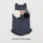 ルイスドッグ【louisdog】Organic Couture Flower Corsages