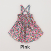 ルイスドッグ【louisdog】Sun Dress Liberty Flowers/Pink