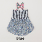ルイスドッグ【louisdog】Sun Dress Liberty Flowers/Blue