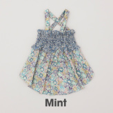 ルイスドッグ【louisdog】Sun Dress Liberty Flowers/Mint