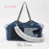 ルイスドッグ【louisdog】TOSHO Bag/Fur Grand-Blue Denim