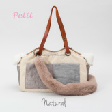 ルイスドッグ【louisdog】TOSHO Bag/Fur Petit-Natural